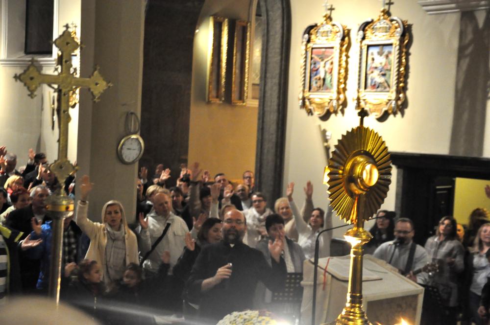 Piąta rocznica Wieczorów uwielbienia